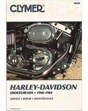 Harley Davidson Shovelheads 1966 - 1984 Clymer Owners Service & Repair Manual