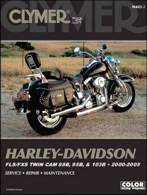 Harley-Davidson FLS/FXS Twin Cam 88B, 95B & 103B 2000 - 2005 - Front Cover