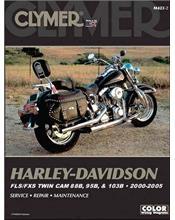 Harley-Davidson FLS/FXS Twin Cam 88B, 95B & 103B 2000 - 2005