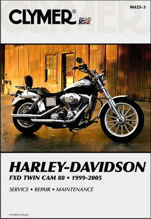 Harley Davidson FXD Twin Cam 88 1999-2005 Clymer Owners Service & Repair Manual - Front Cover