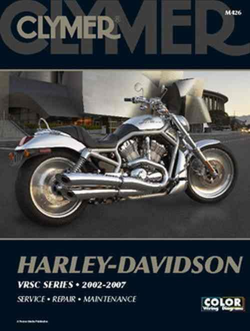 Harley-Davidson VRSC Series 2002 - 2007 Clymer Owners Service & Repair Manual - Front Cover