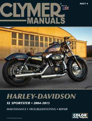 Harley-Davidson Sportster XL883, XL1200 2004 - 2013 - Front Cover