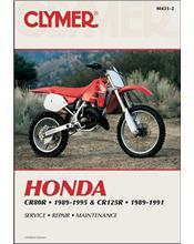 Honda CR80R and CR125R 1989 - 1995 Clymer Owners Service & Repair Manual
