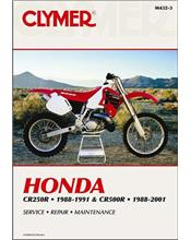 Honda CR250R & CR500R 1988 - 2001 Clymer Owners Service & Repair Manual