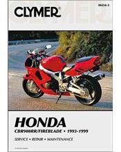 Honda CBR900RR Fireblade 1993 - 1999 Clymer Owners Service & Repair Manual