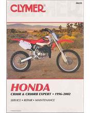 Honda CR80R & CR80RB Expert 1996 - 2002 Clymer Owners Service & Repair Manual