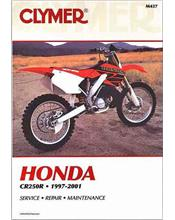 Honda CR250R 1997 - 2001 Clymer Owners Service & Repair Manual