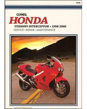 Honda VFR800FI Interceptor 1998 - 2000 Clymer Owners Service & Repair Manual