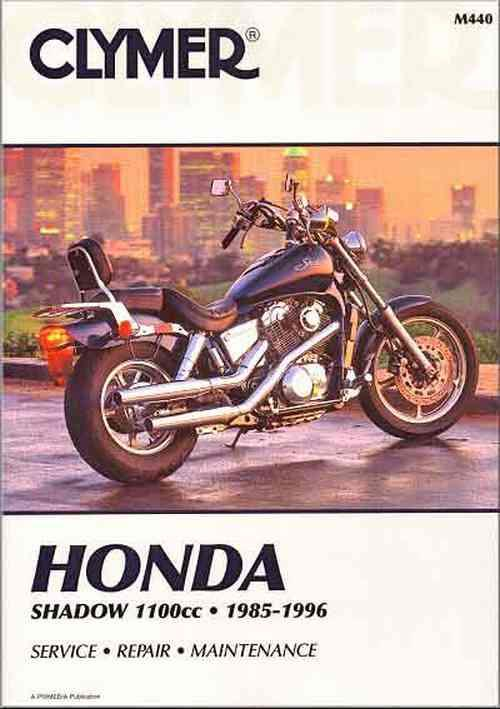 Honda Shadow VT1100cc V-Twin 1985 - 1996 Clymer Owners Service & Repair Manual