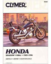 Honda Shadow VT1100cc V-Twin 1985 - 1996 Clymer Owners Service & Repair Manual