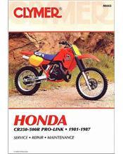 Honda CR250R - 500R Pro-Link 1981 - 1987 Clymer Owners Service & Repair Manual