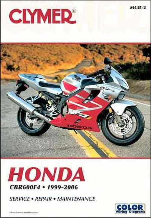 Honda CBR600F4 1999 - 2006 Clymer Owners Service & Repair Manual