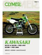 Kawasaki KX125, KX250 & KX500 1982 - 2004 Clymer Owners Service & Repair Manual