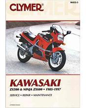 Kawasaki ZX500, ZX600 Ninja 1985 - 1997 Clymer Owners Service & Repair Manual