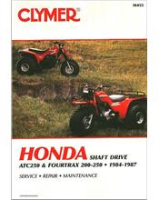 Honda TRX200, ATC250, Fourtrax 250 ATV 1984 - 1987