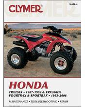 Honda TRX250X & TRX300EX Fourtrax, Sportrax ATV 1993 - 2006