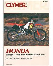 Honda CR125R & CR250R 1992 - 1997 Clymer Owners Service & Repair Manual
