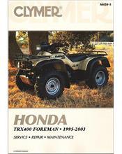 Honda TRX400 Foreman ATV 1995 - 2003 Clymer Owners Service & Repair Manual