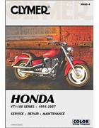 Honda VT1100 Shadow Series 1995 - 2007 Clymer Owners Service & Repair Manual - Front Cover
