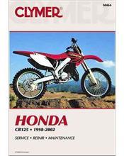 Honda CR125R 1998 - 2002 Clymer Owners Service & Repair Manual