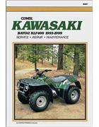 Kawasaki KLF400 Bayou 1993 - 1999 Clymer Owners Service & Repair Manual