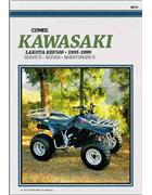 Kawasaki Lakota KEF300 1995 - 1999 Clymer Owners Service & Repair Manual