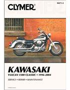 Kawasaki Vulcan 1500 Series 1996 - 2008 Clymer Owners Service & Repair Manual