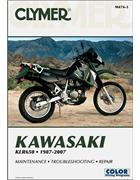 Kawasaki KLR650 1987 - 2007 Clymer Owners Service & Repair Manual