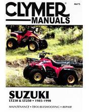 Suzuki LT230 & LT250 1985 - 1990 Clymer Owners Service & Repair Manual