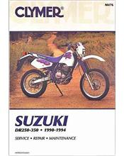 Suzuki DR250 & DR350 1990 - 1994 Clymer Owners Service & Repair Manual