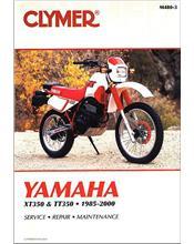 Yamaha XT350 & TT350 1985 - 2000 Clymer Owners Service & Repair Manual