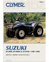 Suzuki LT-4WD, LT-4WDX, LT-F250, QuadRunner, King Quad ATV 1987 - 1998