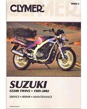 Suzuki GS500 Twin 1989 - 2002 Clymer Owners Service & Repair Manual