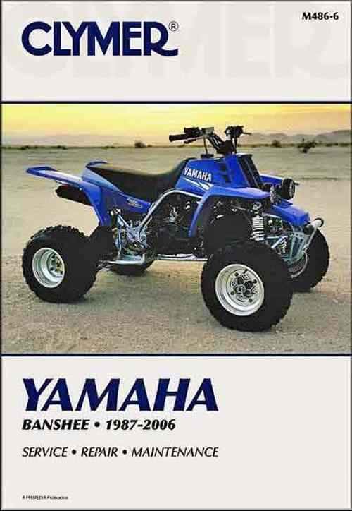 Yamaha Banshee YFZ350 1987 - 2006 Clymer Owners Service & Repair Manual