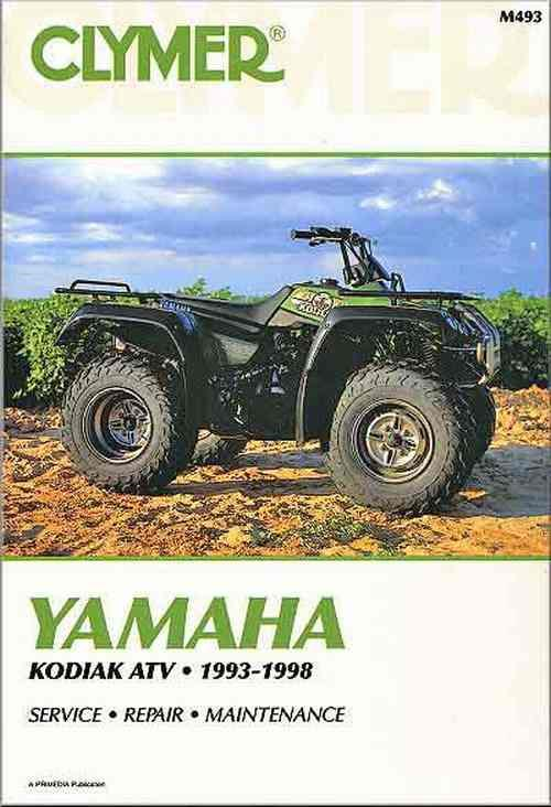 Yamaha Kodiak YFM400 1993 - 1998 Clymer Owners Service & Repair Manual