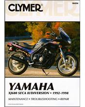 Yamaha XJ600 Seca II Diversion 1992 - 1998 Clymer Owners Service & Repair Manual