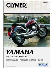 Yamaha V-Star 650 1998 - 2011 Clymer Owners Service & Repair Manual