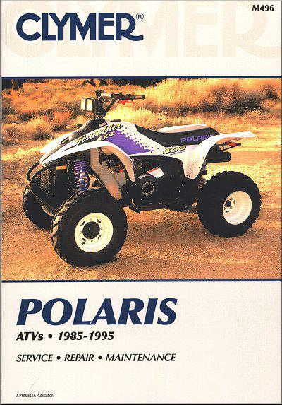 Polaris Scrambler, Cyclone, Trail Boss, Sportman Explorer 1985 - 1995 - Front Cover