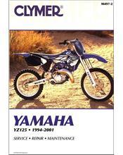Yamaha YZ125 1994 - 2001 Clymer Owners Service & Repair Manual