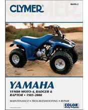 Yamaha YFM80 Moto-4, YFM80 Badger, YFM80 1985 - 2008