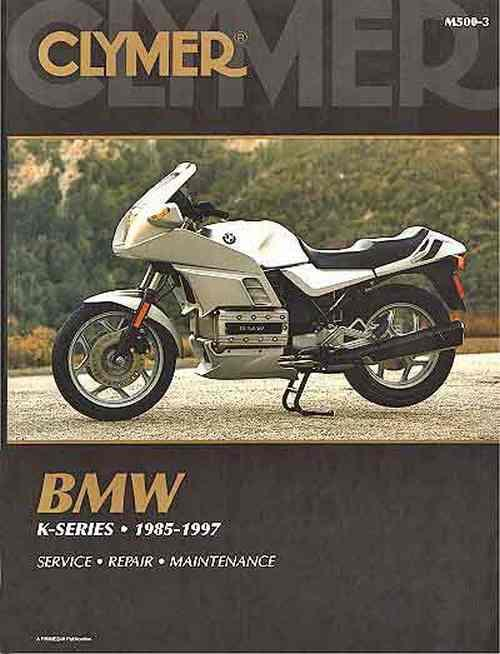 BMW K-Series 1985 - 1997 Clymer Owners Service & Repair Manual - Front Cover