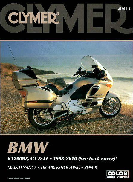 BMW K1200RS, K1200GT & K1200LT 1998 - 2010 Clymer Owners Service & Repair Manual - Front Cover