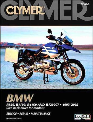 BMW R850, R1100, R1150 & R1200C 1993-2005 Clymer Owners Service & Repair Manual - Front Cover