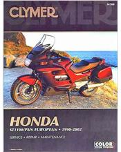 Honda ST1100 Pan European 1990 - 2002 Clymer Owners Service & Repair Manual