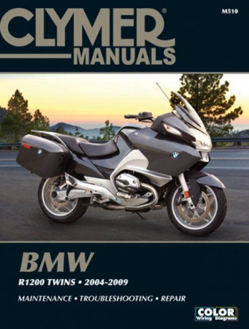 BMW R1200 Twins 2004 - 2009 Clymer Owners Service & Repair Manual - Front Cover