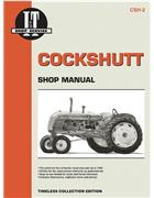 Cockshutt 1946 - 1958 Farm Tractor Owners Service & Repair Manual - Front Cover