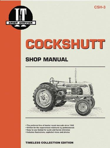 Cockshutt 35 & 40D4 Farm Tractor Service & Repair Manual Supplement - Front Cover