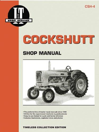 Cockshutt 1958 - 1962 Farm Tractor Owners Service & Repair Manual - Front Cover