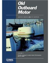Old Outboard Motor Clymer Service Manual (Volume1)