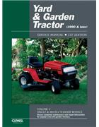 Yard And Garden Tractor 1990 & Later Clymer Owners Service & Repair Manual